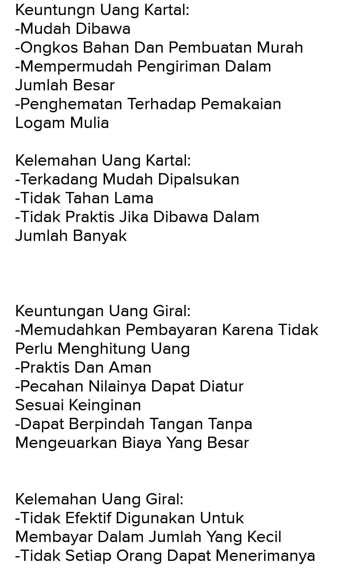Jenis-jenis uang - Wikipedia bahasa Indonesia