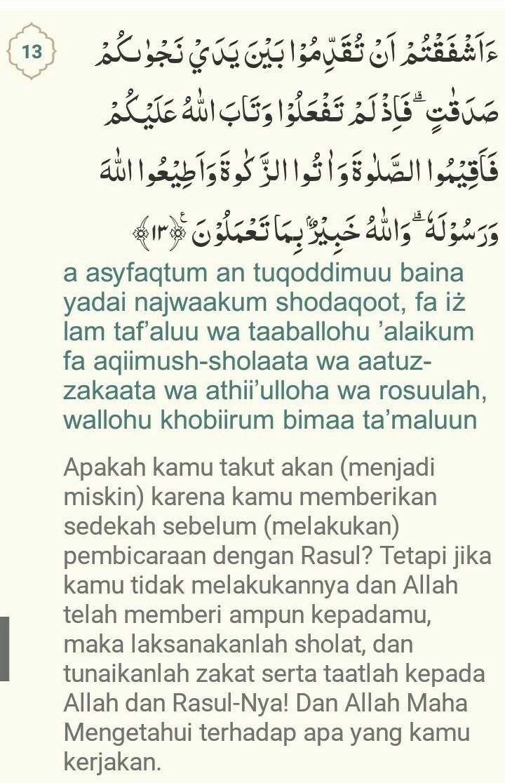 Al-mujadilah Ayat 11 : al-mujadilah, QS.al, Mujadalah, Beserta, Artinya, Brainly.co.id