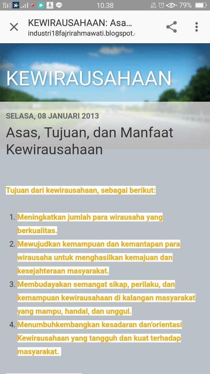 Sebutkan Tujuan Kewirausahaan : sebutkan, tujuan, kewirausahaan, Tujuan, Kewirausahaan, Brainly.co.id