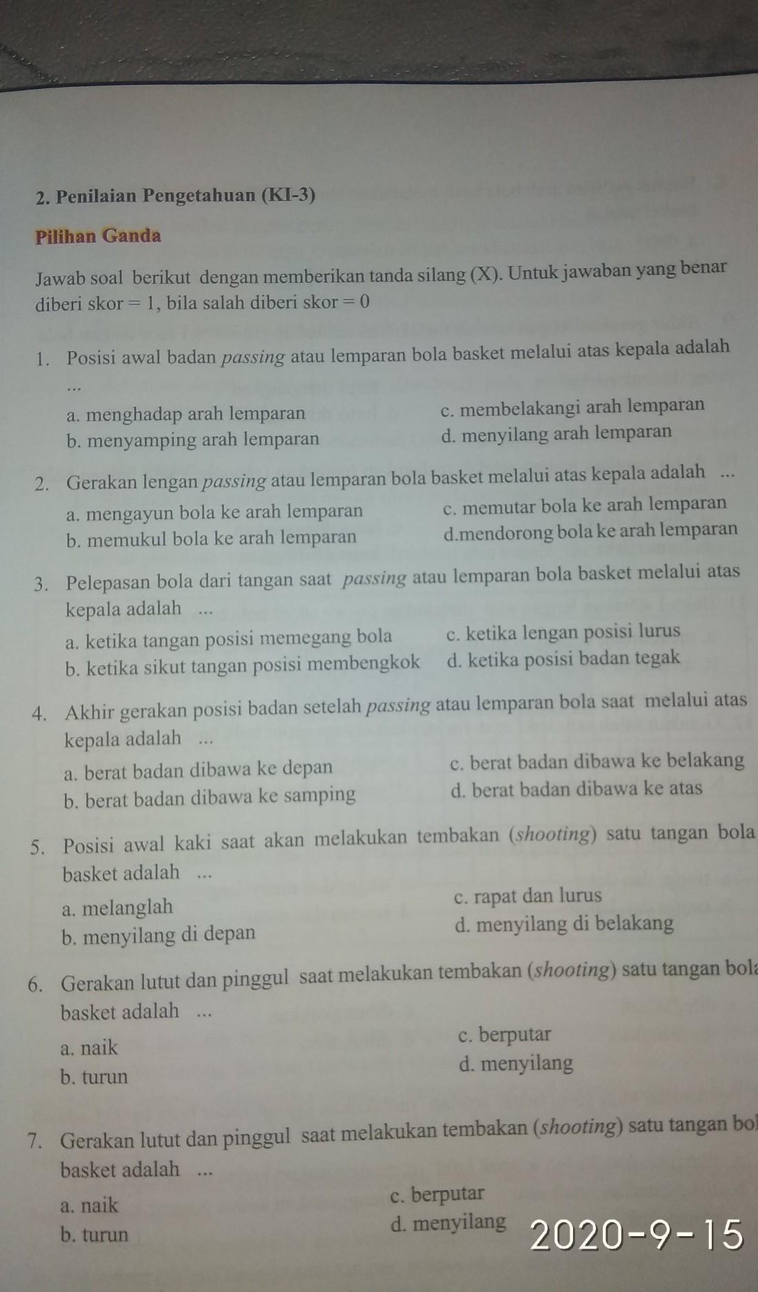 PDF BAB II LANDASAN TEORI A. 1. Permainan Bola Basket