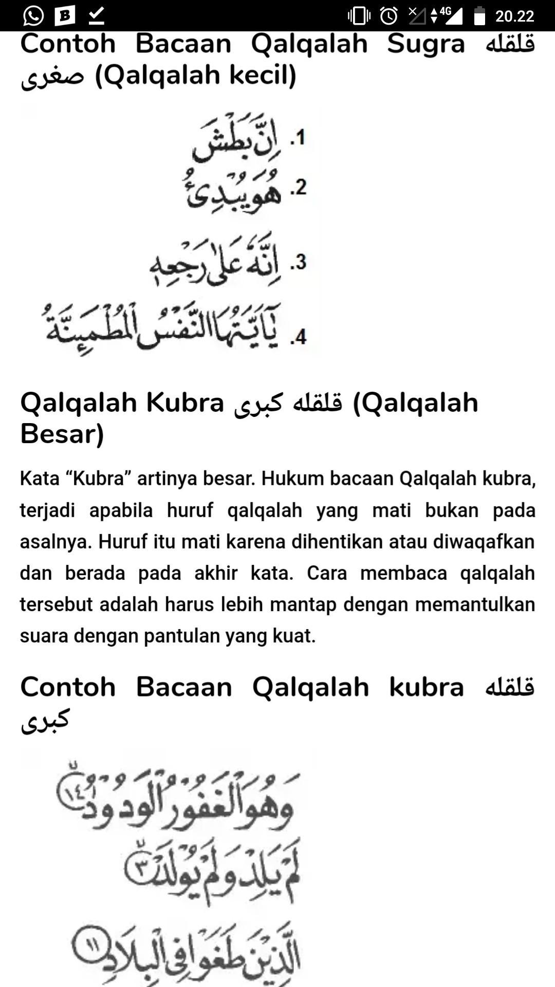 Qalqalah Sugra : qalqalah, sugra, Jelaskan, Pengertian, Hukum, Bacaan, Qalqalah, Kubra, Sugra, Setra, Berikan, Masing, Contoh, Brainly.co.id