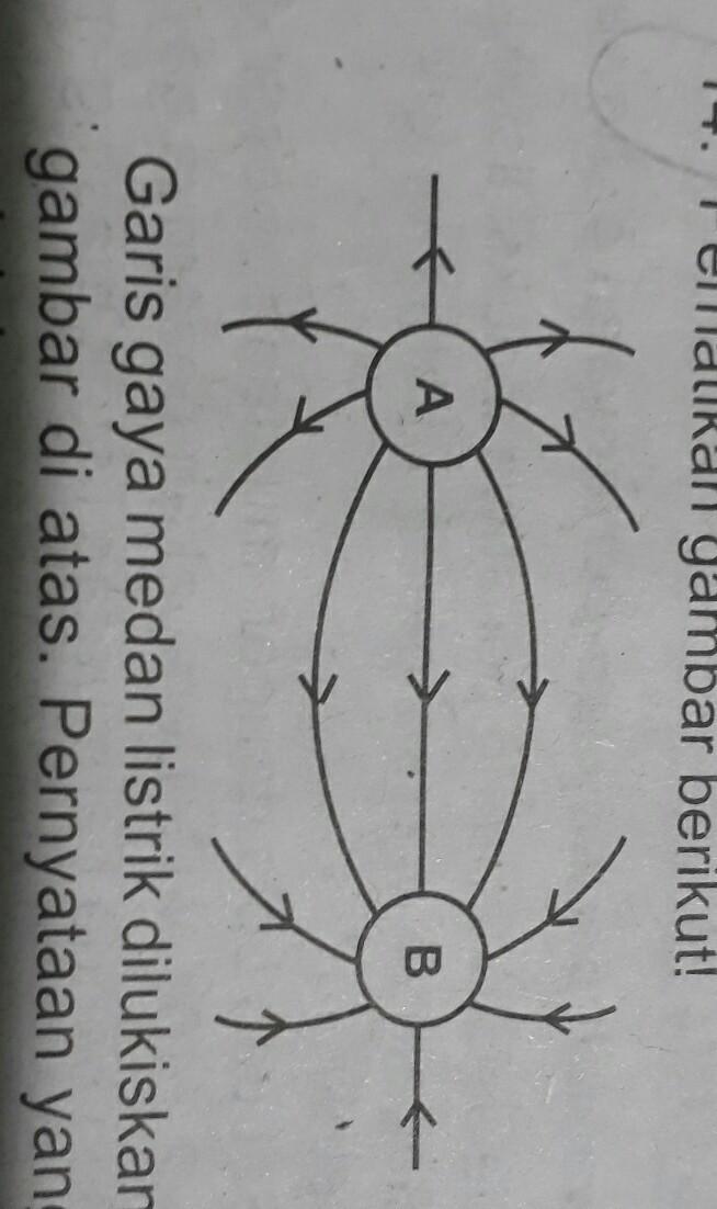 Gambar Medan Listrik : gambar, medan, listrik, Garis, Medan, Listrik, Dilukiskan, Seperti, Gamabr, Diats.Pernyataan, Benar, Adalah?A., Positif, Brainly.co.id