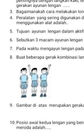 Sebutkan 3 Kombinasi Memutar Lengan : sebutkan, kombinasi, memutar, lengan, Gambar, Merupakan, Gerakan, Mengayun............, Lengan, Brainly.co.id