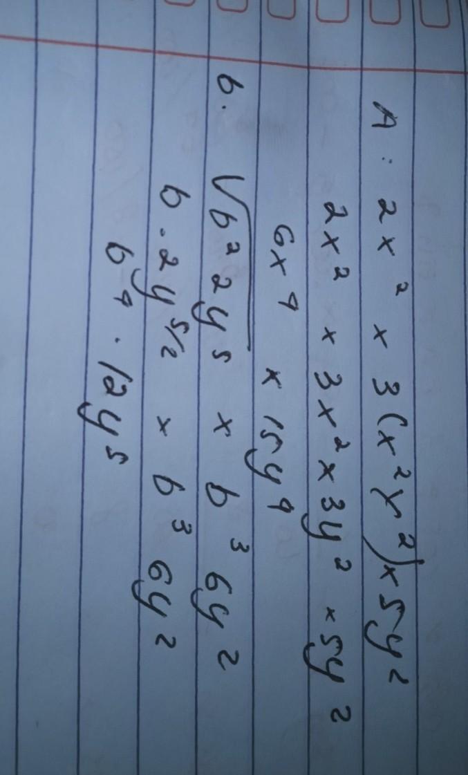 Sederhanakan Operasi Perpangkatan Berikut : sederhanakan, operasi, perpangkatan, berikut, Sederhanakan, Operasi, Perpangkatan, Berikut, (2x²)×3(x²y²)×5y², √b2y⁵×b36y², Brainly.co.id