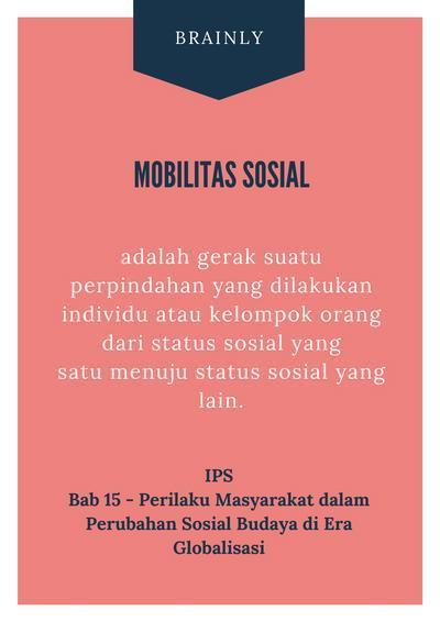 Mobilitas Sosial: Pengertian, Jenis, Karakter, Faktor