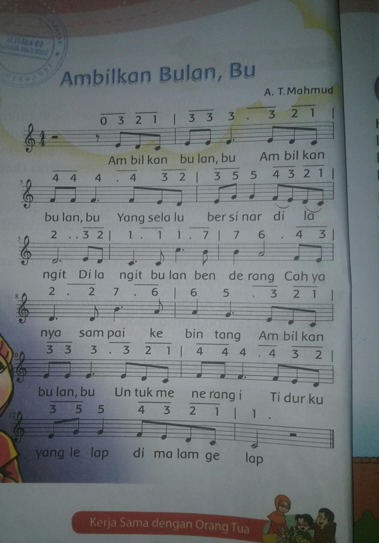 Lagu Yang Menggunakan Tempo Cepat Adalah : menggunakan, tempo, cepat, adalah, Tuliskan., Baris, Ambilkan, Bulan, Dinyanyikan, Dengan, Tempo, Cepat, Lambat, Brainly.co.id