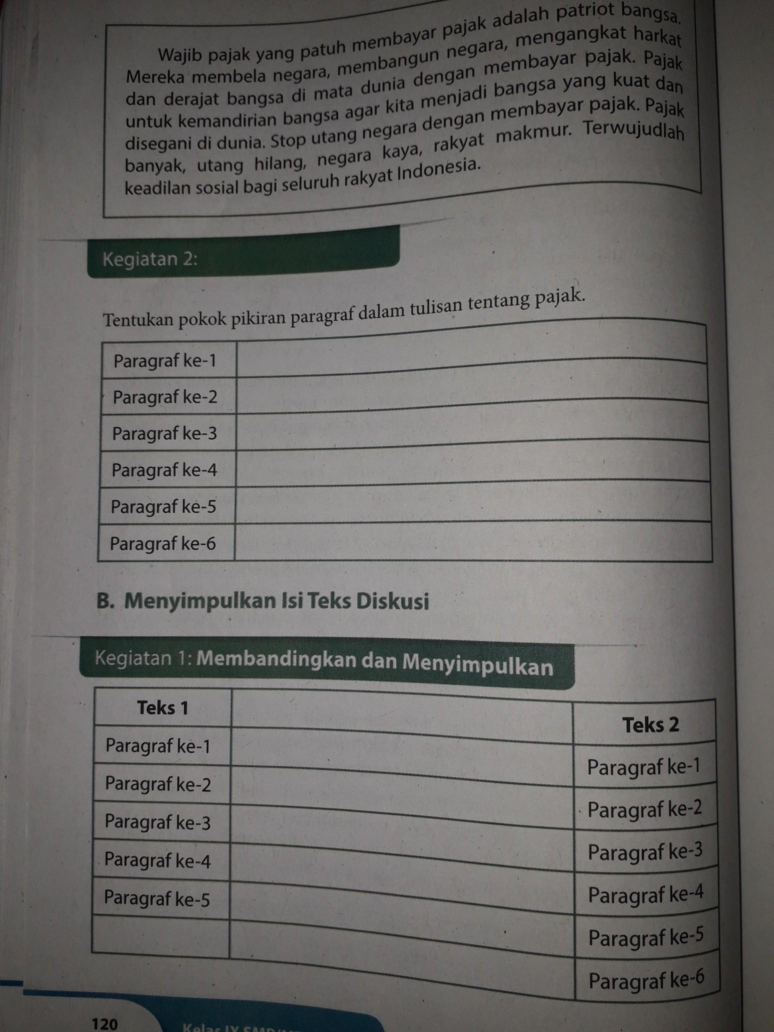 Soal Bahasa Indonesia Kelas 9 Semester 2 Dan Kunci Jawaban Kurikulum 2013 : bahasa, indonesia, kelas, semester, kunci, jawaban, kurikulum, Jawaban, Bahasa, Indonesia, Kelas, Halaman, Brainly.co.id