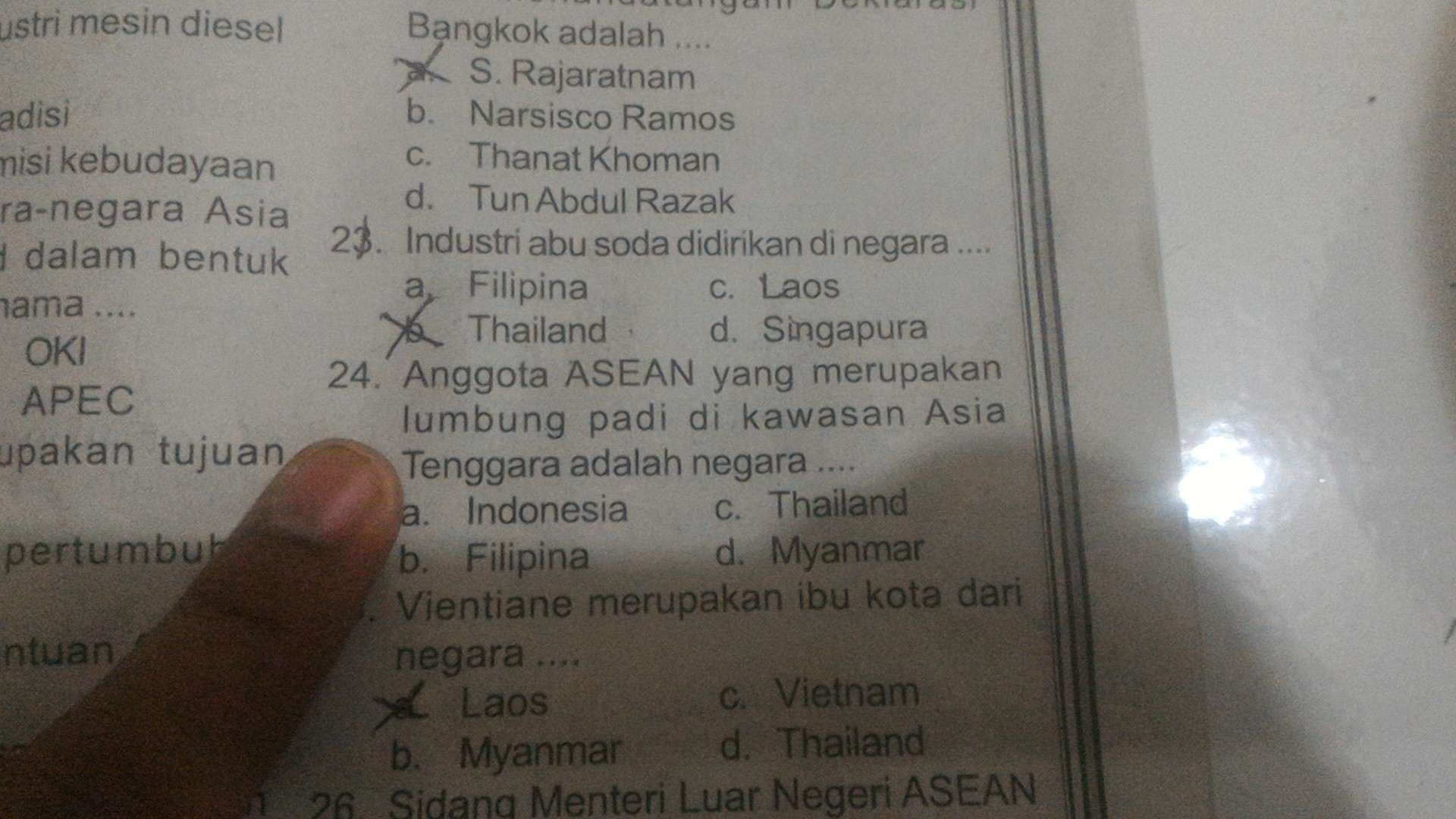 Negara Lumbung Padi Asia Tenggara : negara, lumbung, tenggara, Anggota, ASEAN, Merupakan, Lumbung, Kawasan, Tenggara, Adalah, Brainly.co.id