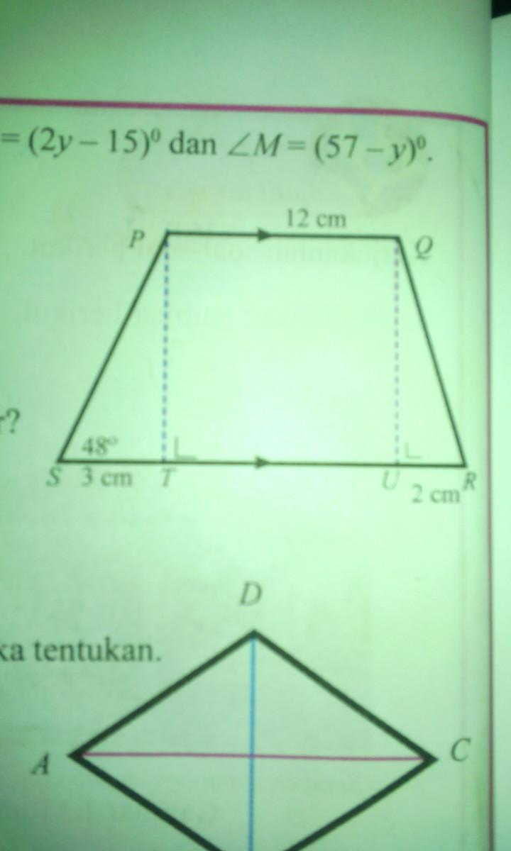 Soal No. 1 Tentukan panjang BC pada segitiga berikut