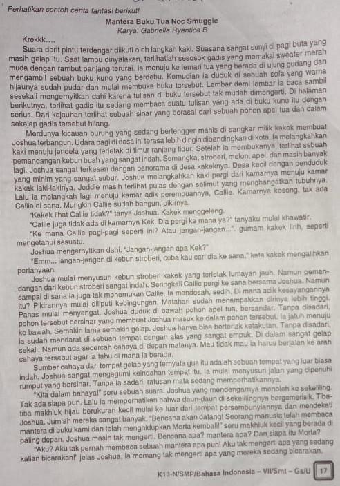 Inti Paragraf : paragraf, Cerita, Setiap, Paragraf?!, Brainly.co.id