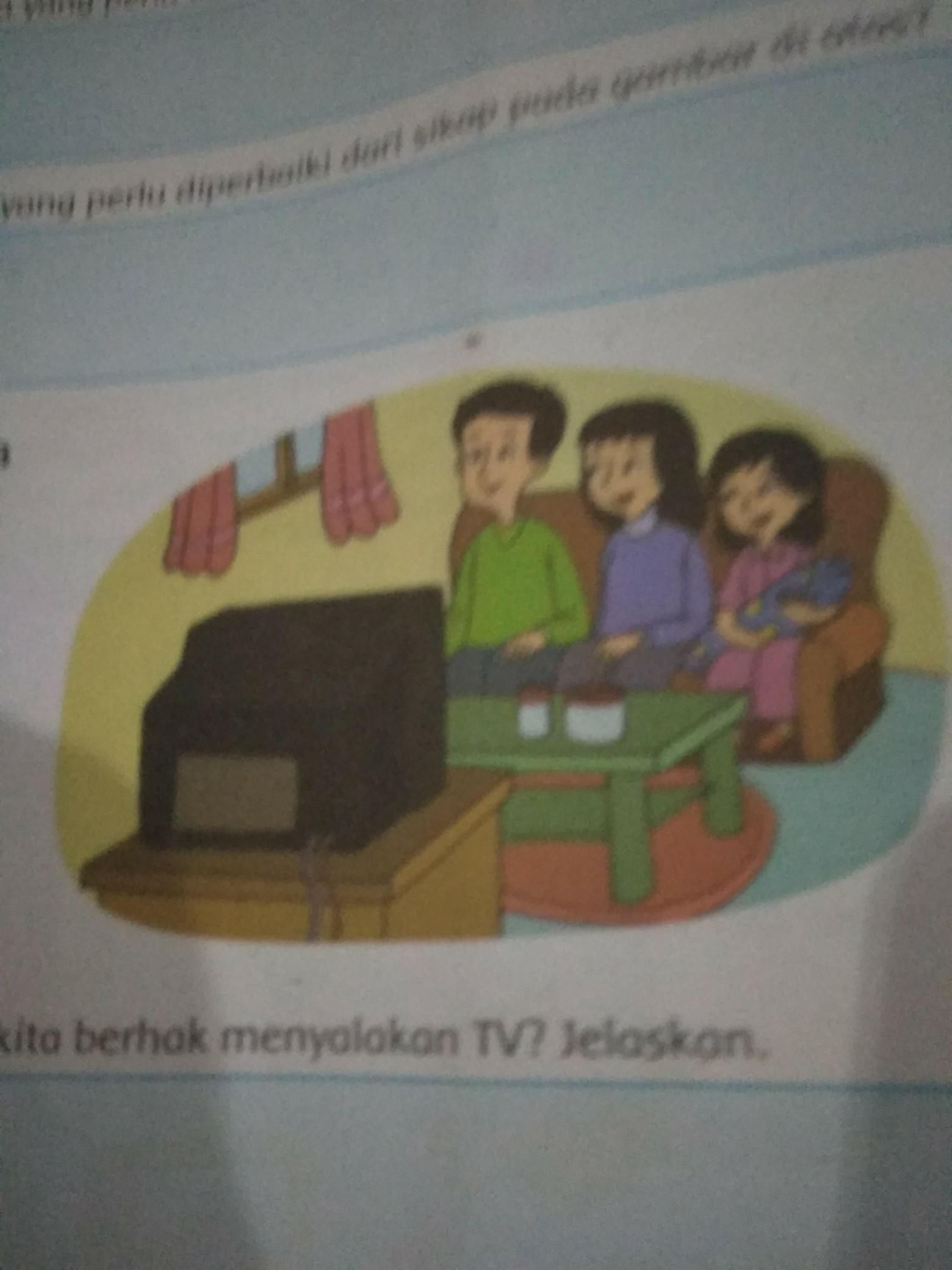 Manfaat Menonton Tv Bersama Keluarga : manfaat, menonton, bersama, keluarga, Apakah, Berhak, Menyalakan, Jelaskan