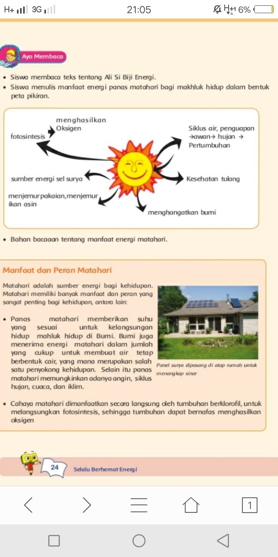 Manfaat Peta Minda : manfaat, minda, Konsep, Manfaat, Matahari, Brainly.co.id