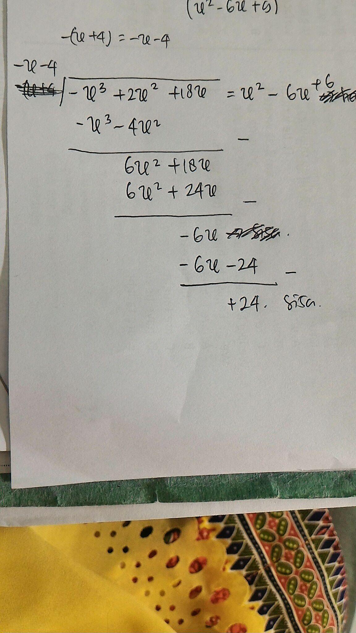 Tentukan Hasil Bagi Bentuk Aljabar Berikut : tentukan, hasil, bentuk, aljabar, berikut, Tentukan, Hasil, Bentuk, Aljabar, 2x²+18x, -(x+4)a., Brainly.co.id