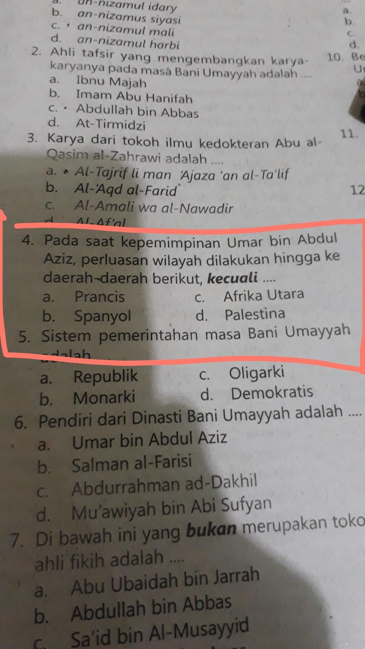 Kepemimpinan Umar Bin Abdul Aziz : kepemimpinan, abdul, Kepemimpinan, Abdul, Aziz,, Perluasan, Wilayah, Dilakukan, Hingga, Daerah, Brainly.co.id