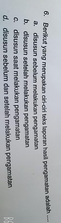 Berikut Yang Merupakan Ciri-ciri Teks Laporan Hasil Pengamatan Adalah : berikut, merupakan, ciri-ciri, laporan, hasil, pengamatan, adalah, Berikut, Merupakan, Laporan, Hasil, Pengamatan, Brainly.co.id