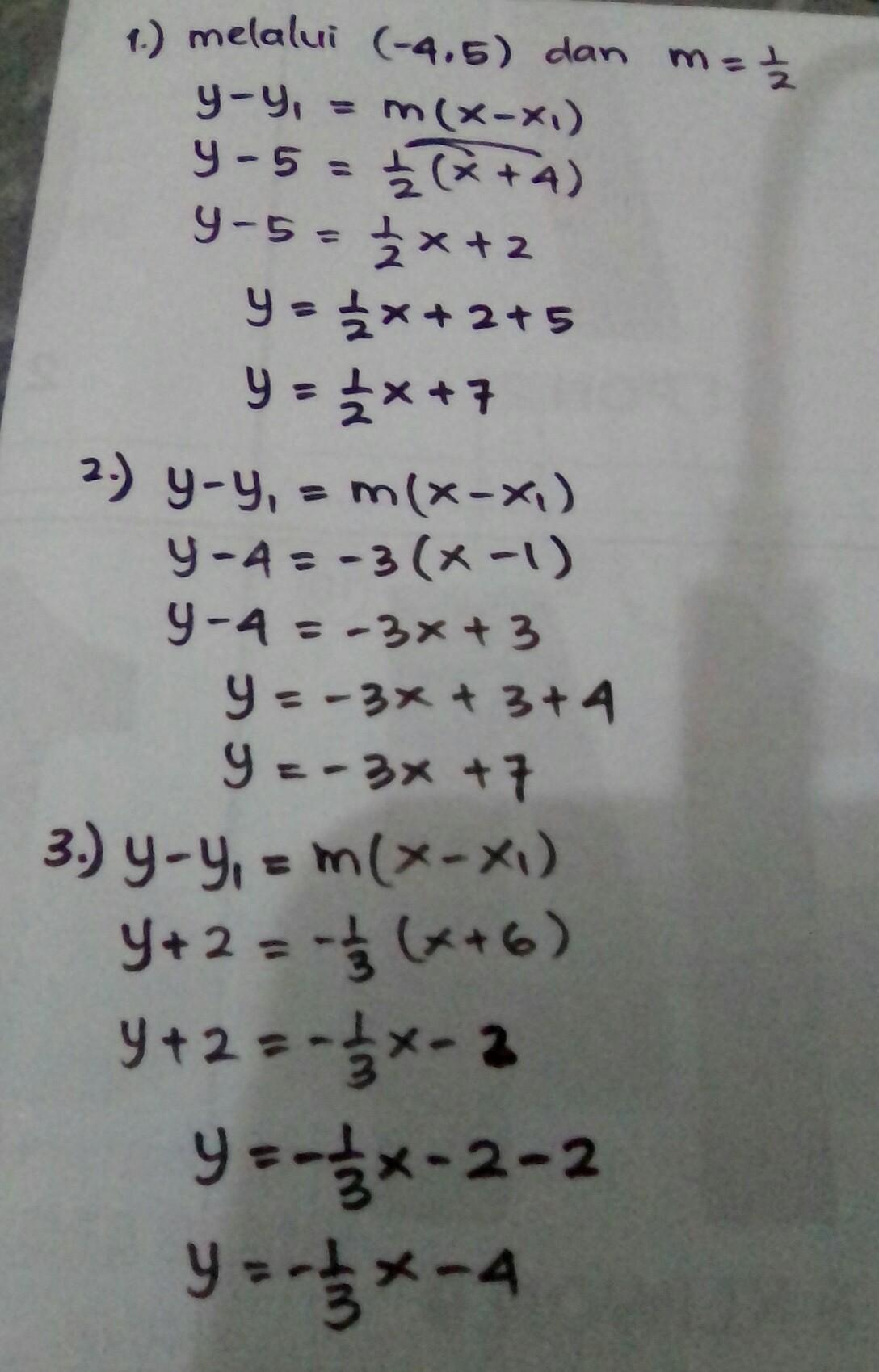 Contoh Soal Kumon Matematika Level A