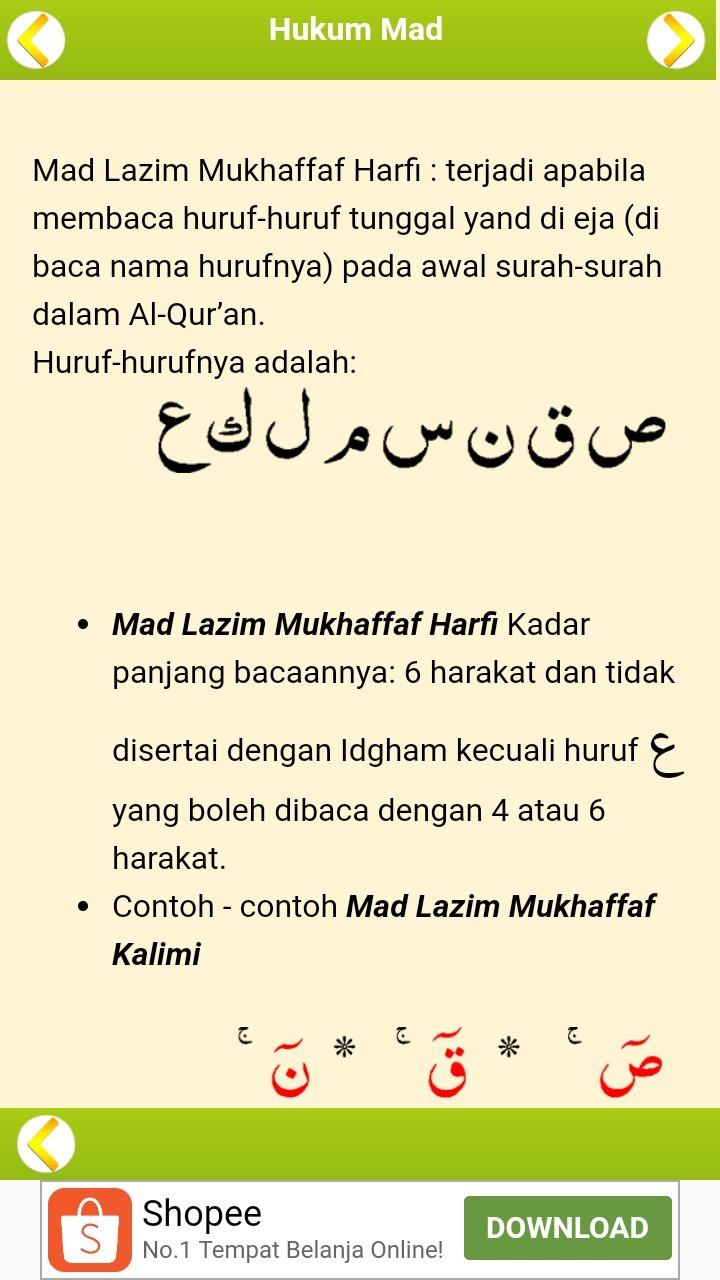 Contoh Mad Lazim Mutsaqol Kalimi : contoh, lazim, mutsaqol, kalimi, Hukum, Bacaan, Lazim, Mutsaqqal, Harfi, IlmuSosial.id