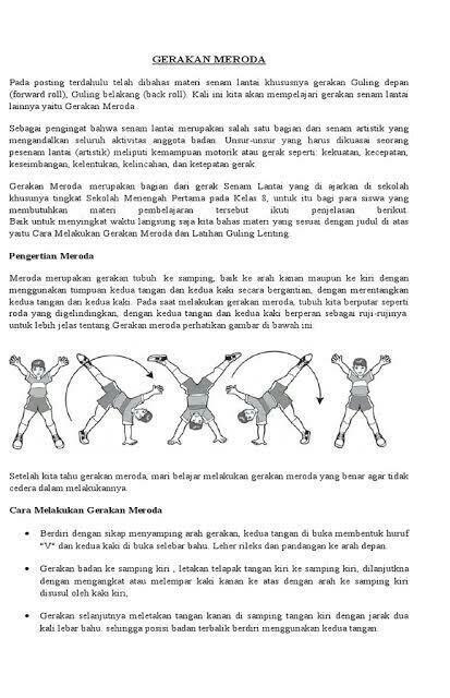 Gambar Gerakan Meroda : gambar, gerakan, meroda, Contoh, Gerakan, Meroda, Brainly.co.id