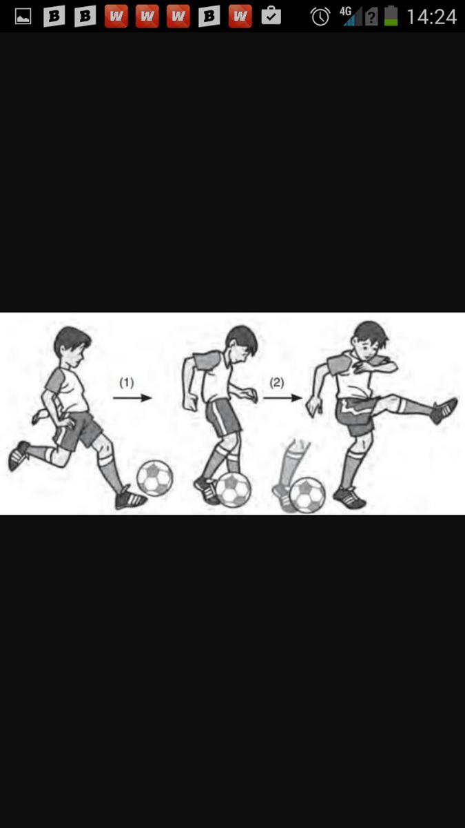 Cara Menendang Bola Futsal : menendang, futsal, Jelaskan, Menendang, Brainly.co.id