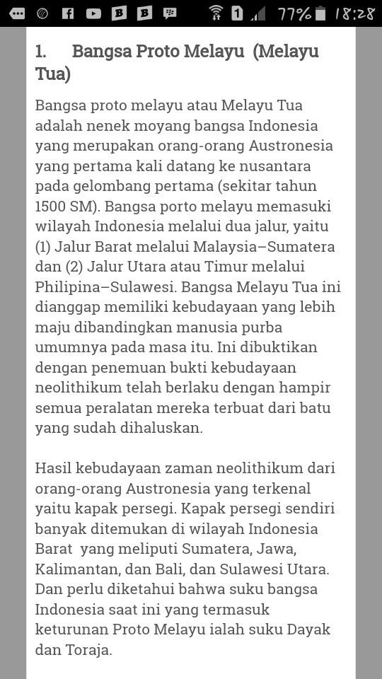 Suku Bangsa Yang Merupakan Keturunan Dari Bangsa Proto Melayu Adalah : bangsa, merupakan, keturunan, proto, melayu, adalah, Sejarah, Masyarakat, Proto, Melayu, Brainly.co.id