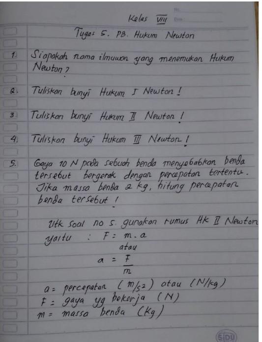 Tuliskan Bunyi Hukum 3 Newton : tuliskan, bunyi, hukum, newton, Tolong, Jawab, Pliss:', Brainly.co.id