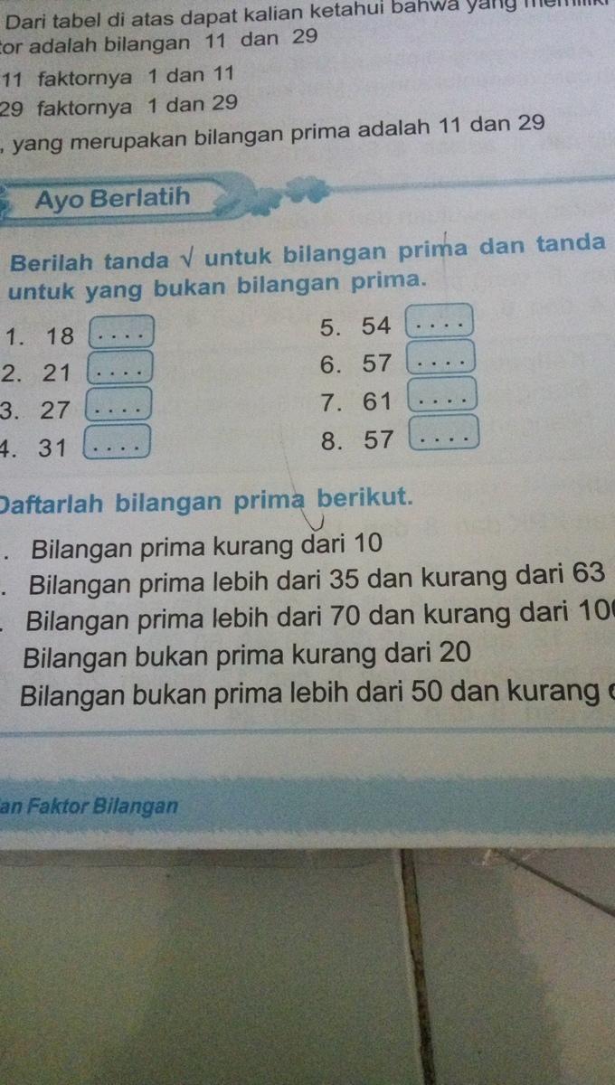 Contoh Bilangan Kurang Dari Dan Lebih Dari : contoh, bilangan, kurang, lebih, Bilangan, Prima, Lebih, Kurang, Brainly.co.id
