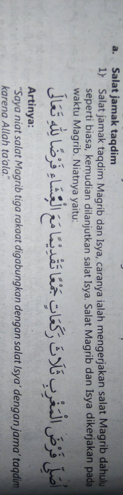 Tuliskan Niat Shalat Jamak Taqdim Maghrib Dan Isya : tuliskan, shalat, jamak, taqdim, maghrib, Tuliskan, Salat, Qasar