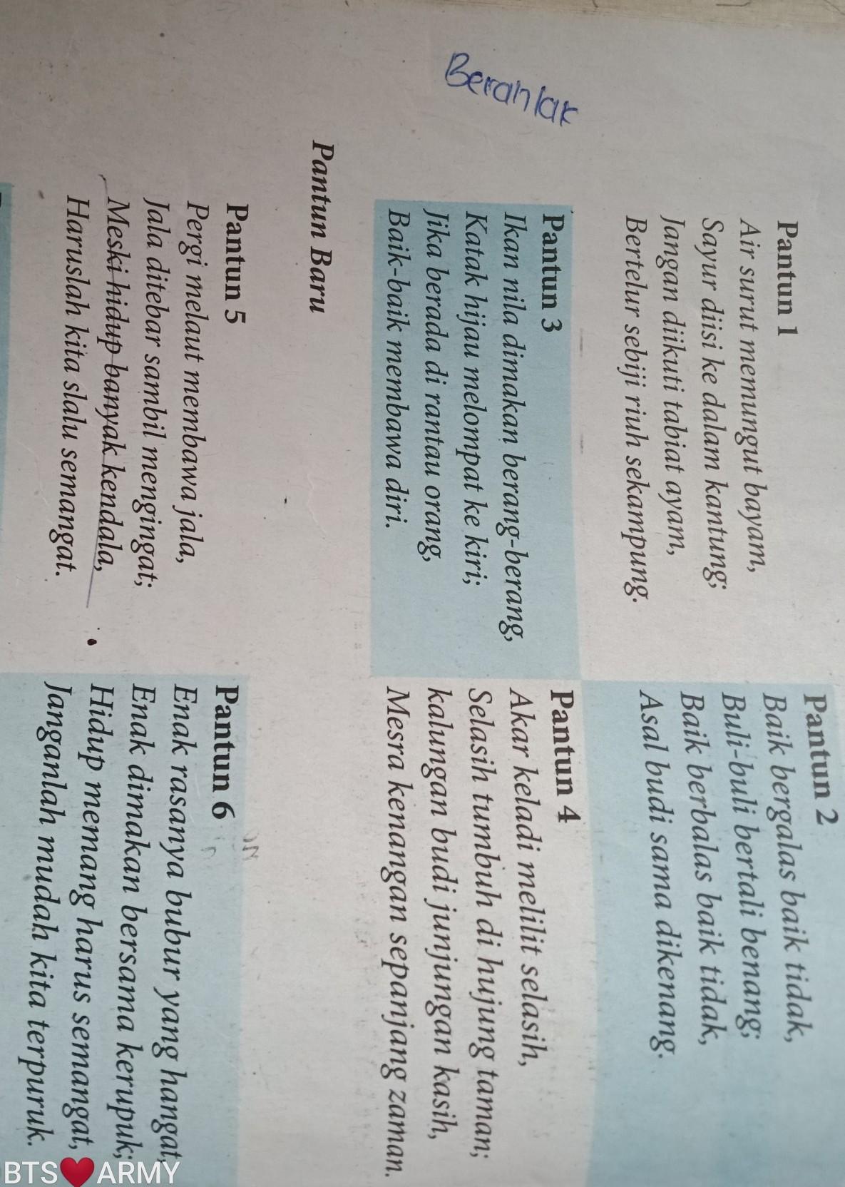 Tuliskan Ciri-ciri Pantun : tuliskan, ciri-ciri, pantun, Pantun, Karya, Nenek, Moyang, Keterangan, Python