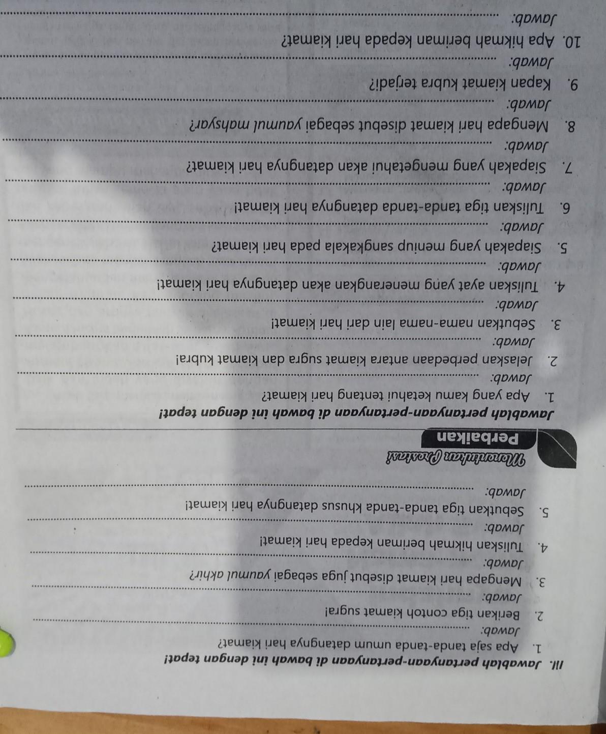 Sebutkan 10 Tanda-tanda Kiamat Kubra : sebutkan, tanda-tanda, kiamat, kubra, Jawab, Gampang, Nyamakasih, Jawabno, 1-10makasih, Brainly.co.id