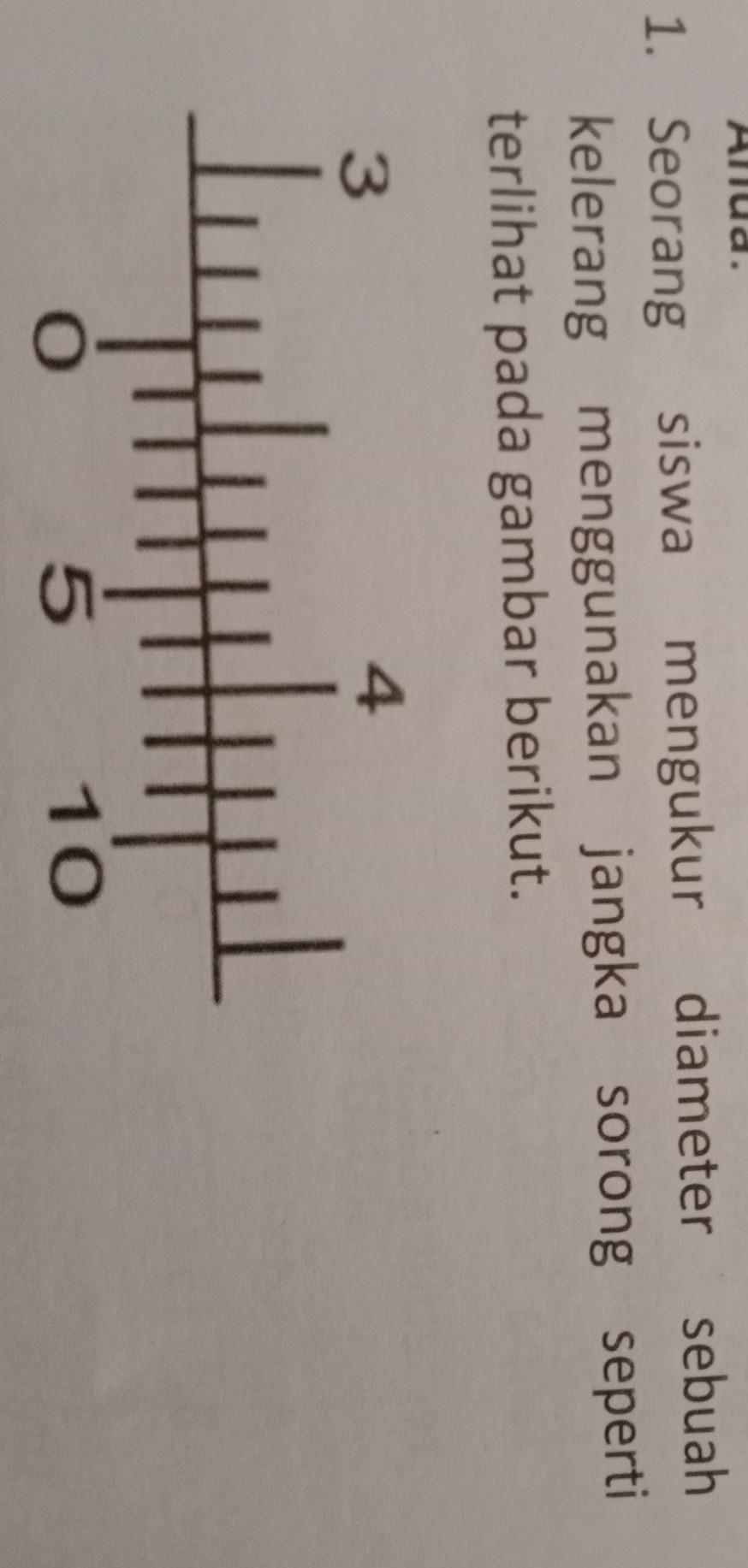 Seorang Siswa Mengukur Diameter Sebuah Kelereng Menggunakan Jangka Sorong : seorang, siswa, mengukur, diameter, sebuah, kelereng, menggunakan, jangka, sorong, Seorang, Siswa, Mengukur, Diameter, Sebuahkelerang, Menggunakan, Jangka, Sorong, Sepertiterlihat, Brainly.co.id