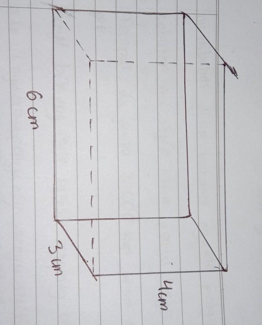 Ukuran Balok : ukuran, balok, Gambarlah, Balok, Dengan, Ukuran, Tinggi, Panjang, Lebar, Brainly.co.id