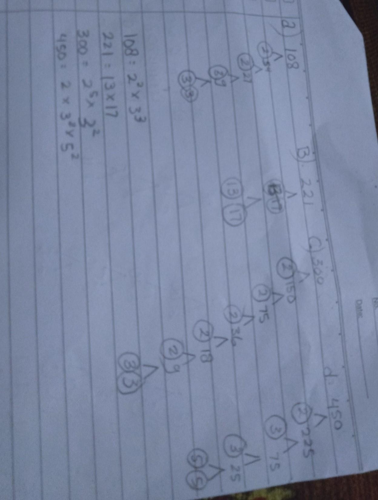 Faktor Prima Dari 300 Adalah : faktor, prima, adalah, Tuliskan, Faktorisasi, Prima, Bilangan, BerikutA.108B.221C.300D.450Mohon, Dijawab, Brainly.co.id