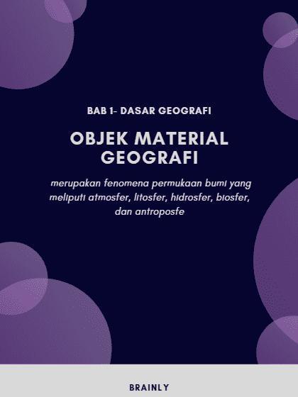 Objek - Objek Formal dalam Ilmu Geografi - Horison Pengetahuan