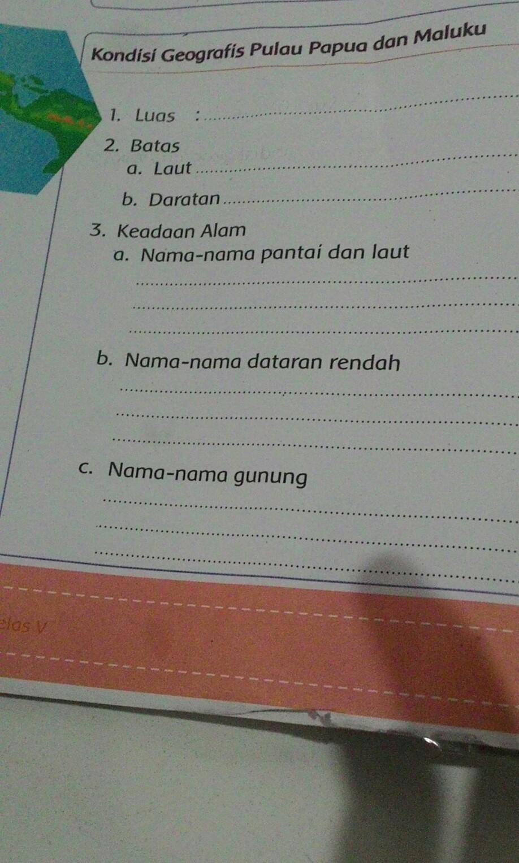 Nama Nama Gunung Di Pulau Papua Dan Maluku : gunung, pulau, papua, maluku, Tolong, Jawab, Brainly.co.id