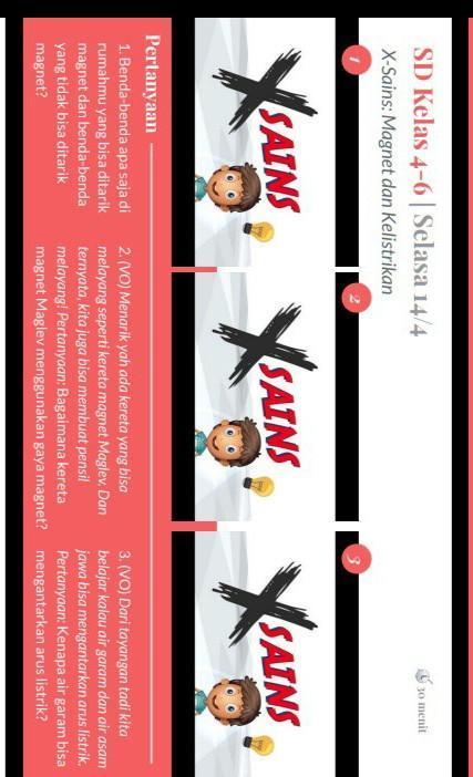 X Sains Magnet : sains, magnet, Benda, Rumahmu, Ditarik, Magnet, Tidak, Tarik, Brainly.co.id