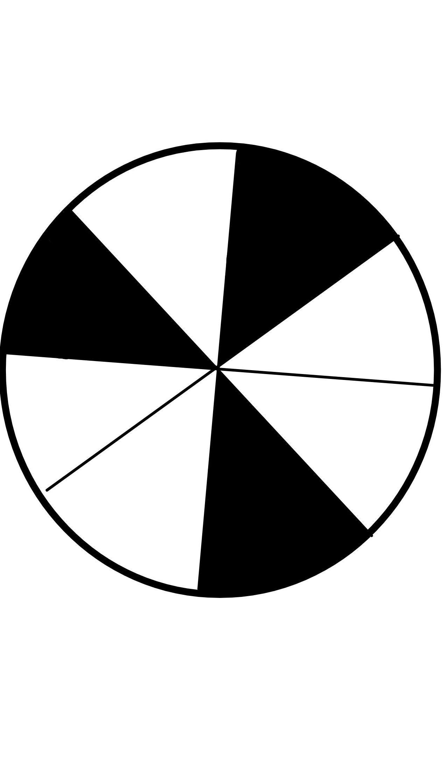 Gambar Pecahan Lingkaran : gambar, pecahan, lingkaran, Gambarlah, Lingkaran, Menunjukkan, Pecahan, Brainly.co.id