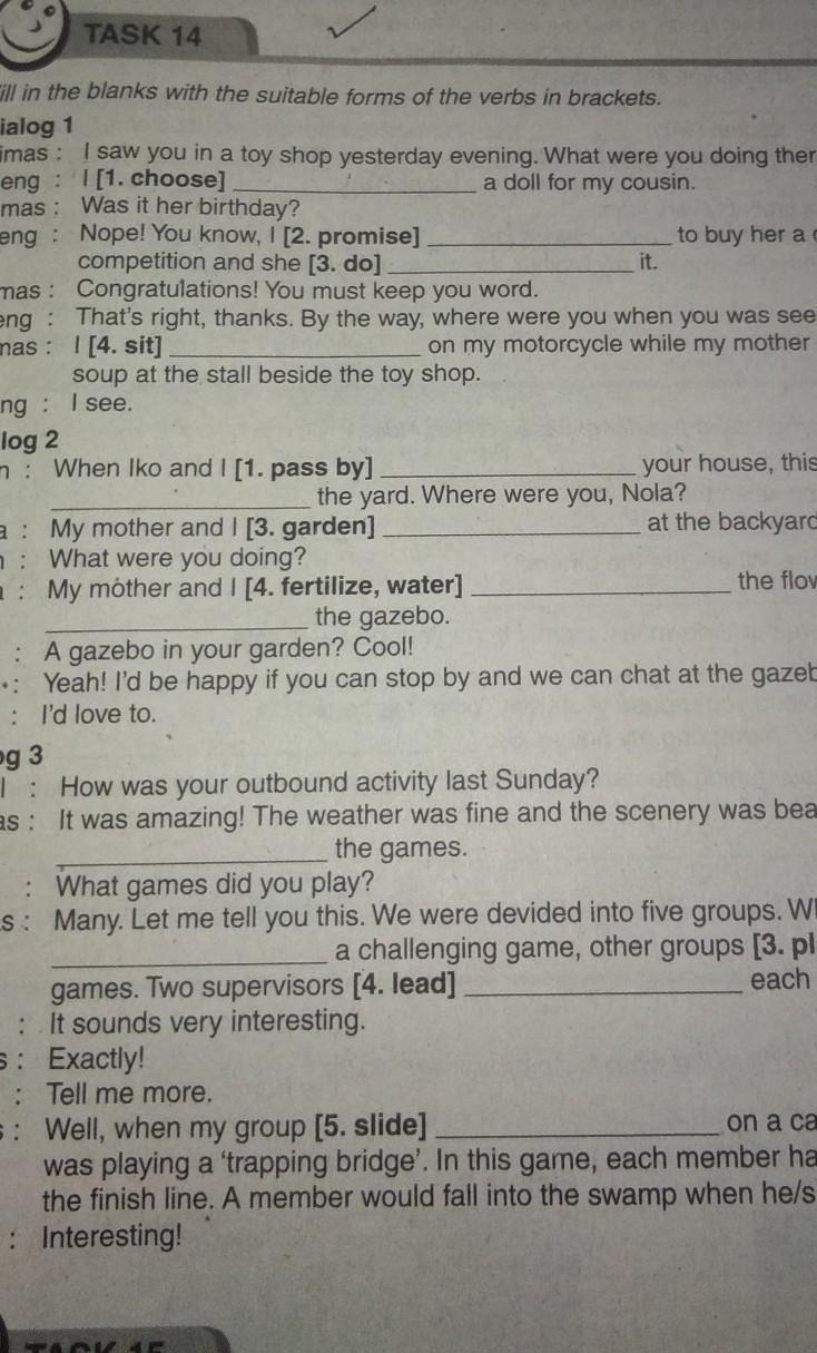 Jawaban Bahasa Inggris Kelas 9 Halaman 14 : jawaban, bahasa, inggris, kelas, halaman, Jawaban, Bahasa, Inggris, Semester, Kelas, Brainly.co.id