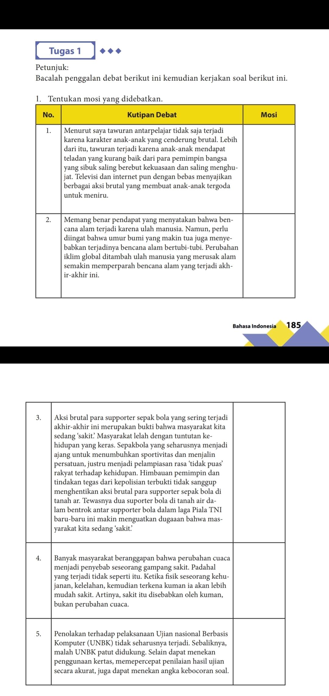Bahasa Indonesia Kelas 10 : bahasa, indonesia, kelas, Paket, Bahasa, Indonesia, Kelas, Halaman, Brainly.co.id