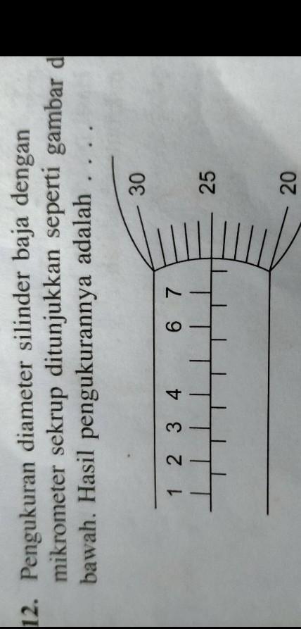 Hasil Ukuran Yang Ditunjukkan Oleh Mikrometer Sekrup Di Bawah Ini Adalah : hasil, ukuran, ditunjukkan, mikrometer, sekrup, bawah, adalah, Pengaruh, Diameter, Silender, Dengan, Mikrometer, Sekrup, Ditunjukan, Seperti, Gambar, Dibawah, Brainly.co.id