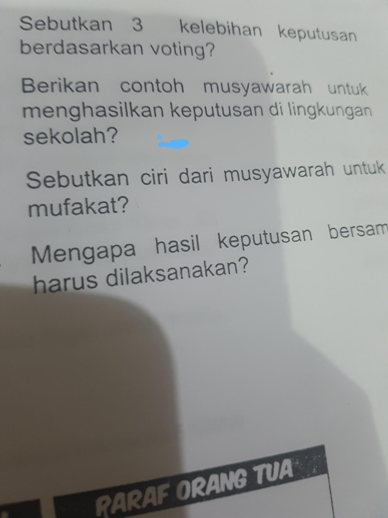 Contoh Musyawarah Di Sekolah : contoh, musyawarah, sekolah, Berikan, Contoh, Musyawarah, Untuk, Menghasilkan, Keputusan, Lingkungan, Sekolah, Brainly.co.id