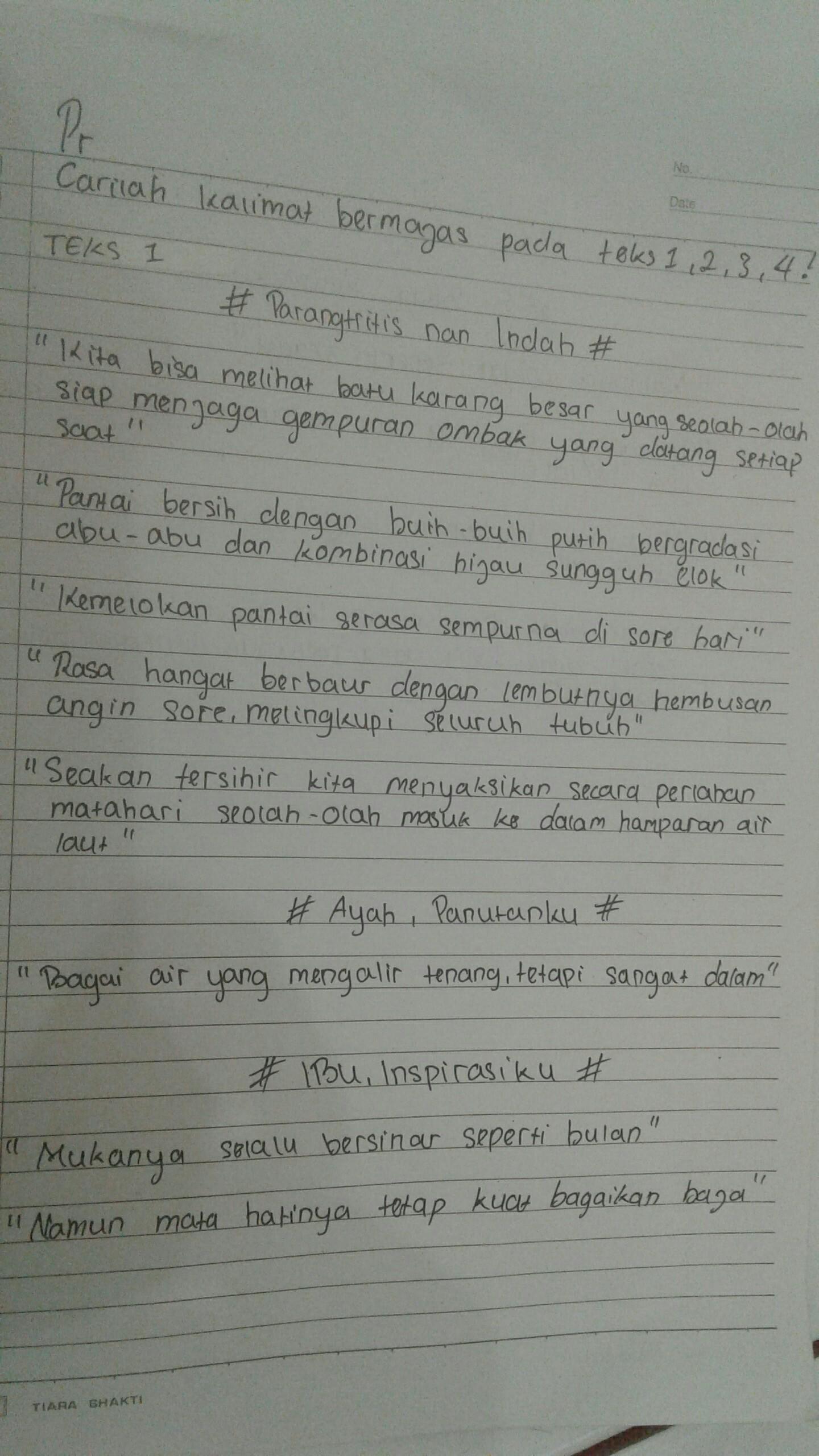 Tujuan Teks Deskripsi Parangtritis Nan Indah Yaitu : tujuan, deskripsi, parangtritis, indah, yaitu, Contoh, Majas, Parangtritis, Indah