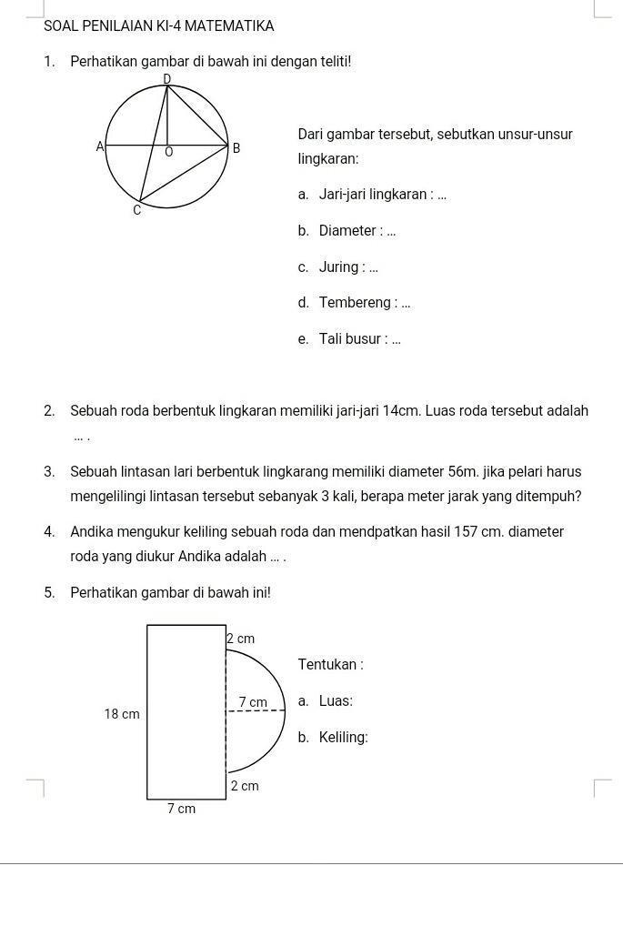 Latihan Soal KSM Fisika Terintegrasi MA 2020 dan Kunci Jawaban...