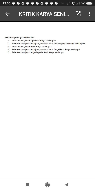 Tujuan Kritik Seni : tujuan, kritik, Tolong, Bantu, Brainly.co.id