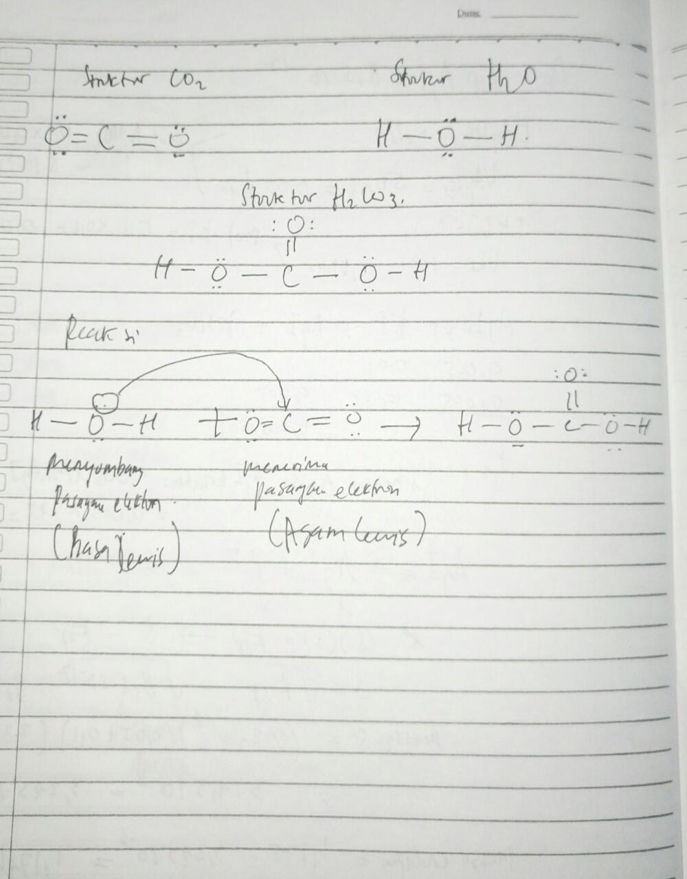 Menurut Teori Asam Basa Lewis Basa Adalah : menurut, teori, lewis, adalah, Konsep, Menurut, Lewis, Dapat, Untuk, Menjelaskan, Reaksi, Terjadi, CO2+H2O, Brainly.co.id