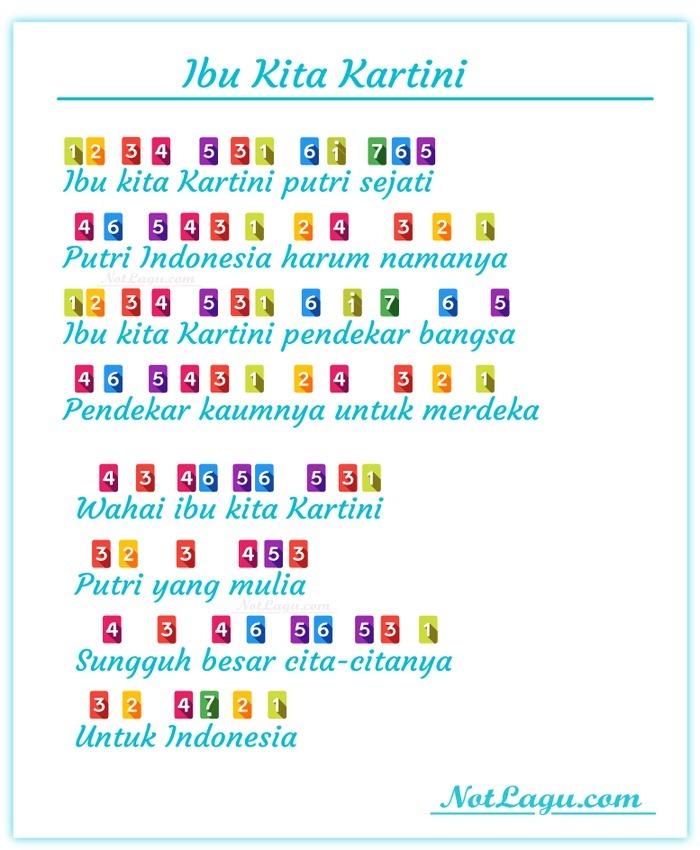 Lirik Ibu Kartini : lirik, kartini, Balok, Kartini, Brainly.co.id