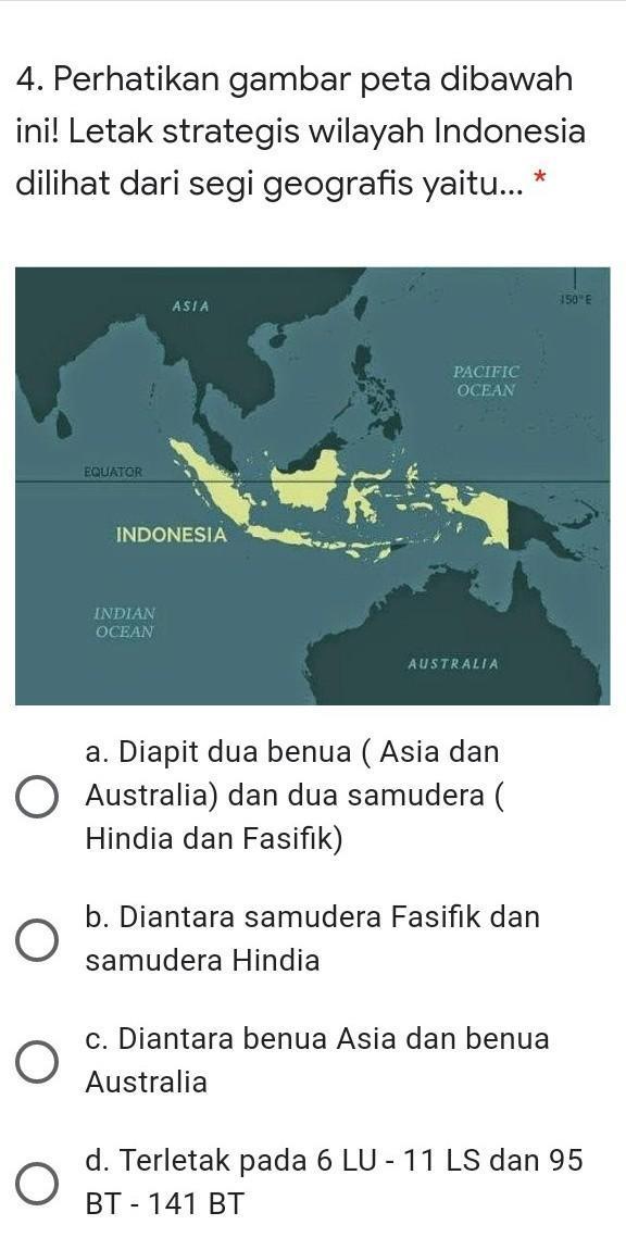 Indonesia Terletak Diantara Dua Benua Yaitu : indonesia, terletak, diantara, benua, yaitu, Bantu, Plisssssss, Brainly.co.id