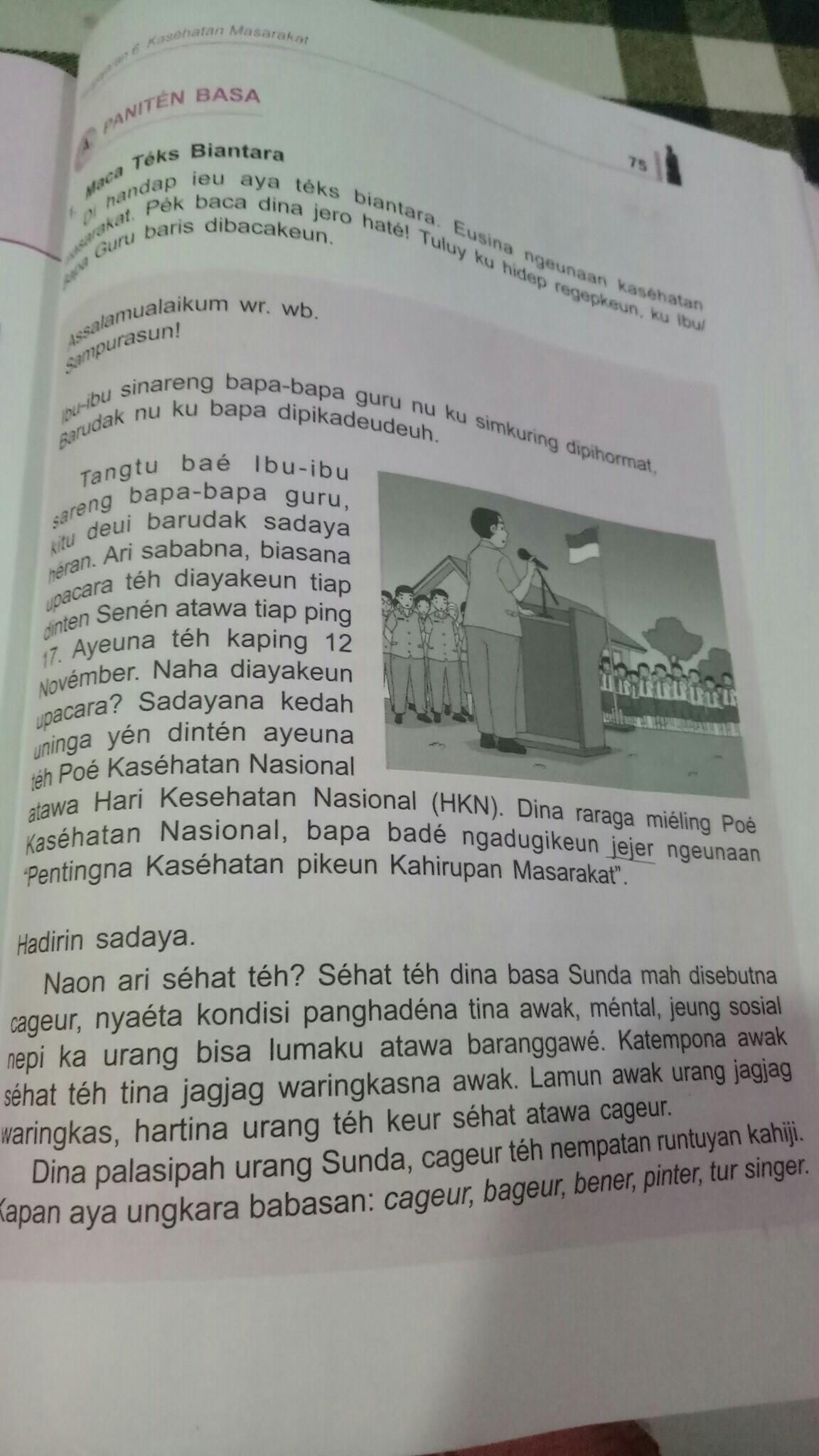 13+ Contoh Pidato Bahasa Sunda Singkat Terbaru dan