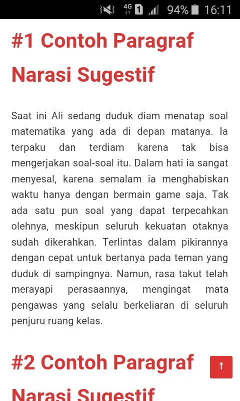 Contoh Teks Narasi : contoh, narasi, Contoh, Narasi, Sugestif, Brainly.co.id
