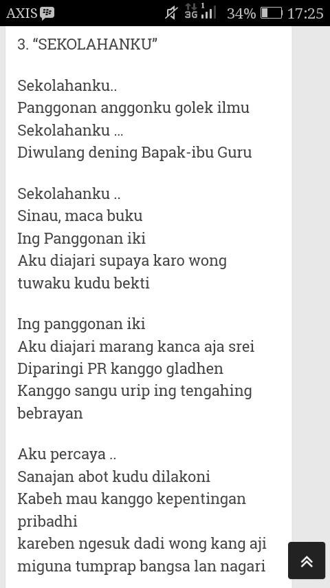 Geguritan Bahasa Jawa Singkat : geguritan, bahasa, singkat, Carilah, Geguritan, Singkat, Bertema, Kelas, Brainly.co.id