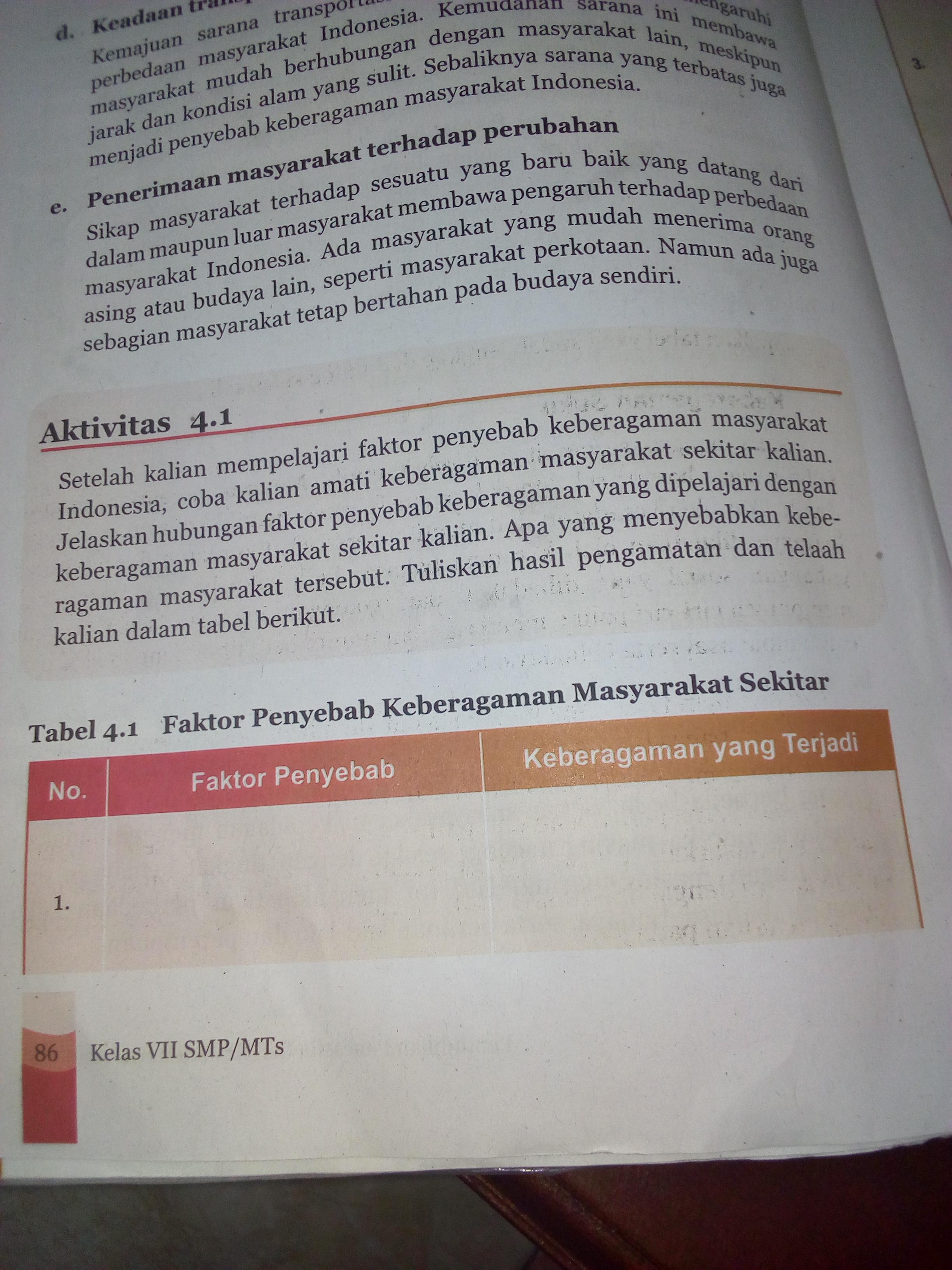 Sebutkan Beberapa Faktor Yang Menyebabkan : sebutkan, beberapa, faktor, menyebabkan, Sebutkan, Faktor, Penyebab, Keberagaman, Masyarakat, Indonesia, Brainly